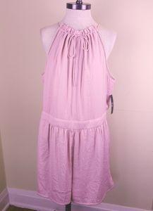 New York & Company Light Pink Romper